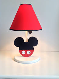 Minnie And Mickey Mouse Shower Curtain by Mickey Mouse Disney Table Lamp Handmade By Under Ten Cr