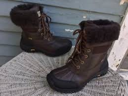 s ugg australia brown leather boots 225 ugg australia adirondack ii obsidian brown leather 5446