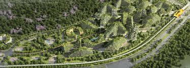 boeri u0027s liuzhou forest city masterplan breaks ground in china