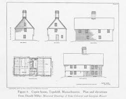 georgian architecture house plans capen house other title parson capen house date 1683 cur u2026 flickr