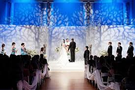 wedding backdrop themes 24 weddings that really brought the wow factor with lighting