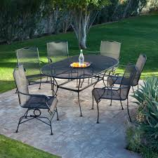 amazing stone top patio table costco image inspirations tables