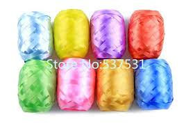 colorful ribbon 5mmx10m colorful ribbon balloon accessories curling ribbon