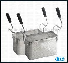 Pasta Basket New Arrival Double Handle Perforated Pasta Basket Commercial