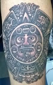 detailed sun god aztec tattooimages biz