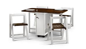 Folding Table With Chairs Stored Inside 20 Drop Leaf Table With Folding Chairs Home Design Lover