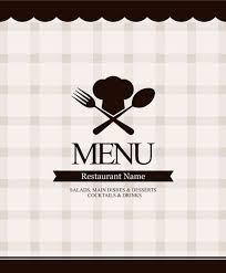 menu template 11 free vector graphic download