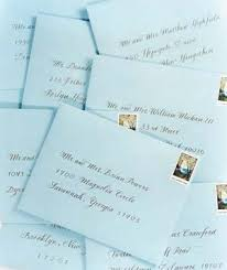 wedding invitations addressing how to address wedding invitations real simple