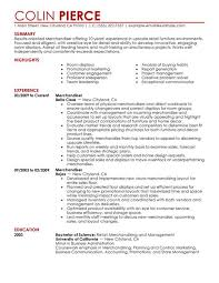 Results Oriented Resume Examples by Best Merchandiser Retail Representative Part Time Resume Example