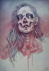 89 best catrinas images on pinterest drawings sugar skulls and