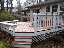 Deck Ideas Backyard Deck Ideas U2013 Home Improvement 2017 Simple Backyard Deck