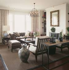 Cushion Rugs Terrific Chesterfield Sofa Family Room Contemporary With Curtains