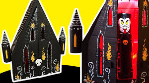 diy gothic house cardboard craft ideas for kids on box yourself