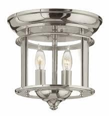 Hinkley Chandelier Hinkley 3472pn Gentry Polished Nickel Ceiling Light Fixture Hin
