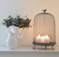 small grey metal crown tea light holder maison by emma jane