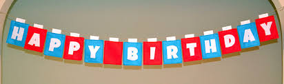 Happy Birthday Flags Birthday Banner Chirpy Threads