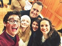 the liv and maddie cast just proved they really are a family in