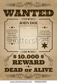 wanted poster stock images royalty free images u0026 vectors