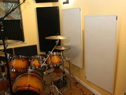 mounting acoustic panels with a variable air gap recording hacks