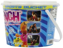 light up halloween buckets amazon com quench gum sports team chewing gum bucket 200 count