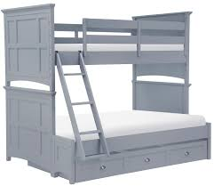 Bennett Twin Over Full Bunk Bed Bedrooms First - Twin over full bunk bed trundle