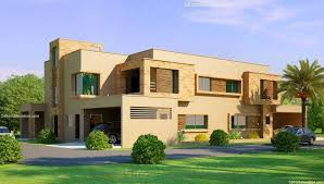 home front view design pictures in pakistan lahore beautiful house 1 kanal modern 3d front elevation com