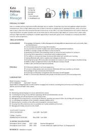 Sample Office Resume by Office Manager Resume Ingyenoltoztetosjatekok Com