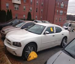 get the boot u0027 if you park illegally at wssu thenewsargus