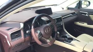lexus caviar 2017 lexus rx350 caviar with parchment interior youtube