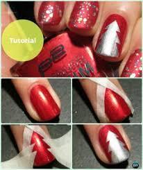 diy christmas nail art ideas designs hairstyles beauty and