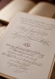 mary ben u0027s elegant and rustic letterpress wedding invitations