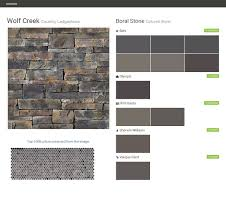 wolf creek country ledgestone cultured stone boral stone behr