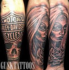badass harley davidson tattoos artist magazine