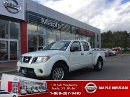 nissan frontier 2017 used 2017 nissan frontier in maple used nissan frontier 2017 at