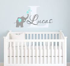Wall Decor Stickers For Nursery Wall Decal Design Baby Elephant Wall Decals For Nursery In