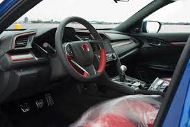 honda civic 2017 type r interior you can bid on the first ever honda civic type r built for the us