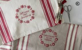 Free Kitchen Embroidery Designs Best Free Embroidered Kitchen Towels Furniture Mgl0 3411