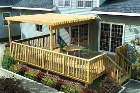 nice backyard covered deck ideas decks with roofs covered deck