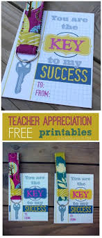 key to my success free printables with keychain glue