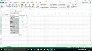 Bill Of Materials Excel Template How To Create A Bill Of Materials In Excel Sheet