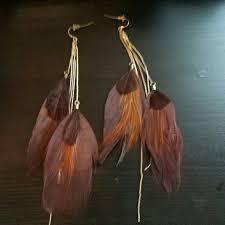 feather earrings s aldo aldo feather earrings from amanda s closet on poshmark