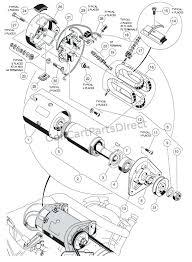 yamaha golf cart starter generator testing mount wiring diagram