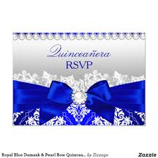 Sweet 15 Invitations Cards White Diamonds Royal Blue Sweet 16 Birthday Party Card Sweet 16