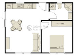 Granny Flat Designs Sqm One Bedroom Granny Flat Granny Flats - One bedroom designs