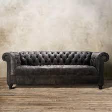 tufted gray sofa tufted back grey sofa catosfera net