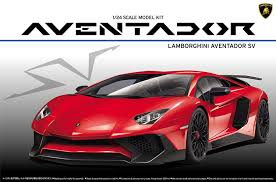 Lamborghini Aventador Tail Lights - amazon com aoshima 1 24 supercar series no 24