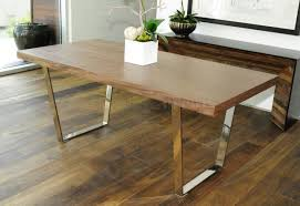 10 alluring wood dining table with metal legs that you u0027ll love