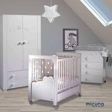 chambre complète bébé avec lit évolutif chambre de bébé complète dolce luce de micuna chambre bébé micuna