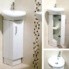 Vanity Units And Basins Vanities Barca Corner Vanity Unit White Corner Cloakroom Basins