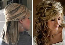 Hochsteckfrisurenen Lange Haare Halb Offen by Frisuren Mittellang Hochsteckfrisuren Hochsteckfrisur Feines Haar